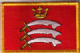 Middlesex Embroidered Flag Patch, style 08.